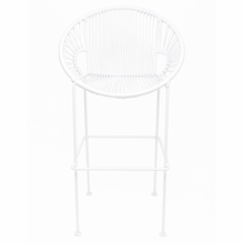 Counter Height Puerto Stool - White Weave
