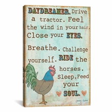 Country Life Canvas Wall Art