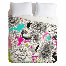 Couture Home Floral 2 Lightweight Duvet Cover