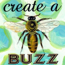 Create a Buzz Canvas Art