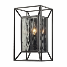 Cubix Sconce In Oiled Bronze