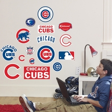 Cubs Logo Wall Decals