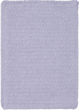 Custom Creations Braided Rug in Light Purple