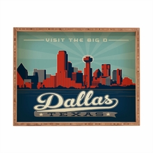 Dallas Rectangular Tray