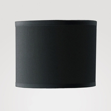 Dame Small Black Linen Shade
