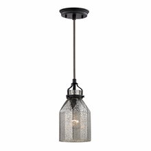 Danica Mini Pendant In Oil Rubbed Bronze