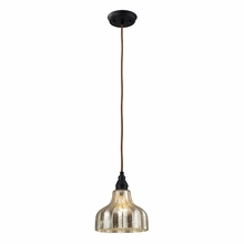 Danica Wide Pendant In Oiled Bronze