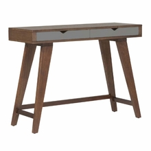 Daniel Console Table in Walnut and Gray