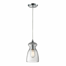 Darcy Bulb Pendant In Polished Chrome