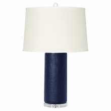Dark Blue Cleo Lamp Base