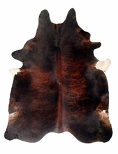 Dark Brindle Hide Rug