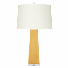 Dark Yellow Naxos Lamp Base
