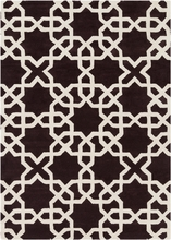 Davin Kaleidoscope Rug in Brown