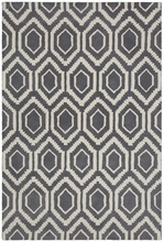 Davin Mod Diamond Rug in Gray