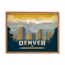 Denver 1 Rectangular Tray