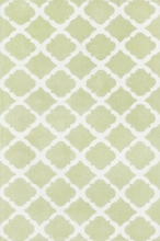 Diamond Green Lattice Piper Rug