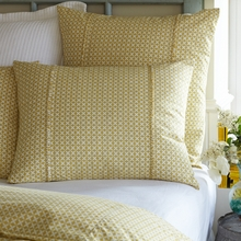 Yellow Hartford Standard Sham