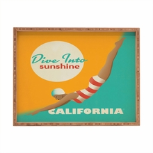 Dive California Rectangular Tray