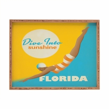 Dive Florida Rectangular Tray