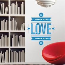 Do What You Love Peel & Stick Giant Wall Decals