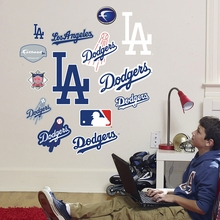 Dodgers Logo Wall Decals