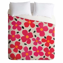 Dogwood Berry Lightweight Duvet Cover