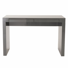 Donald Desk in Gray Lacquer