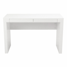 Donald Desk in White Lacquer