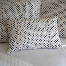 Sweet Cottage Dots Boudoir Pillow