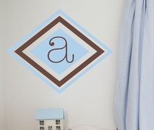 Double Diamond Wall Decal
