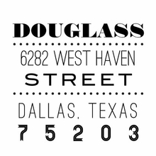 Douglass Personalized Self-Inking Stamp