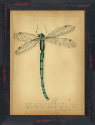 Dragonfly Wall Art district17: dragonfly framed wall art: framed art