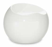 Drop Stool in White