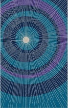 Eccentric Area Rug in Blue and Purple