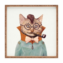 Eclectic Cat Square Tray