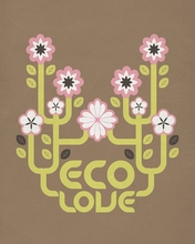 Eco Love Canvas Wall Art