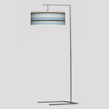 Ed Brushed Metal Floor Lamp