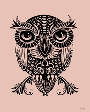 Egyptian Owl Canvas Wall Art