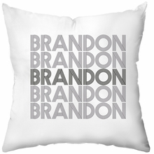 Electron Personalized Throw Pillow