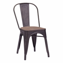 Elio Chair Rustic Wood