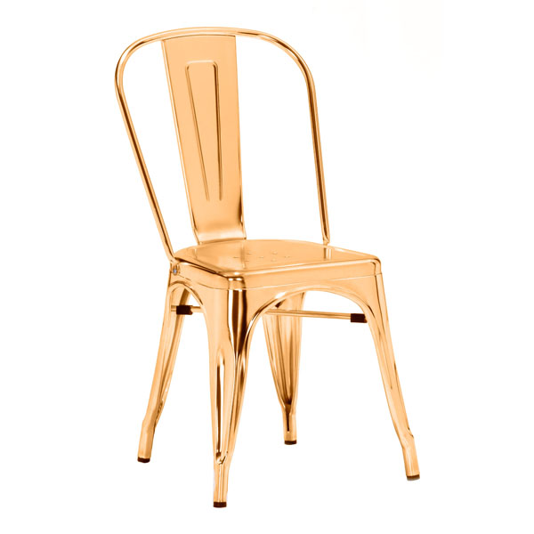 District17 Elio Dining Chair Gold Desk Chairs