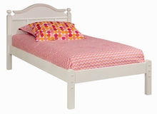Emma Bed with Low Headboard and Low Footboard