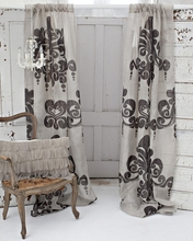 Enchantique Natural Linen Window Curtain