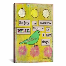 Enjoy the Moment Canvas Wall Art