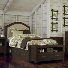 Grayson Upholstered Twin Bed