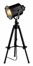 Ethan Adjustable Tripod Table Lamp in Restoration Black
