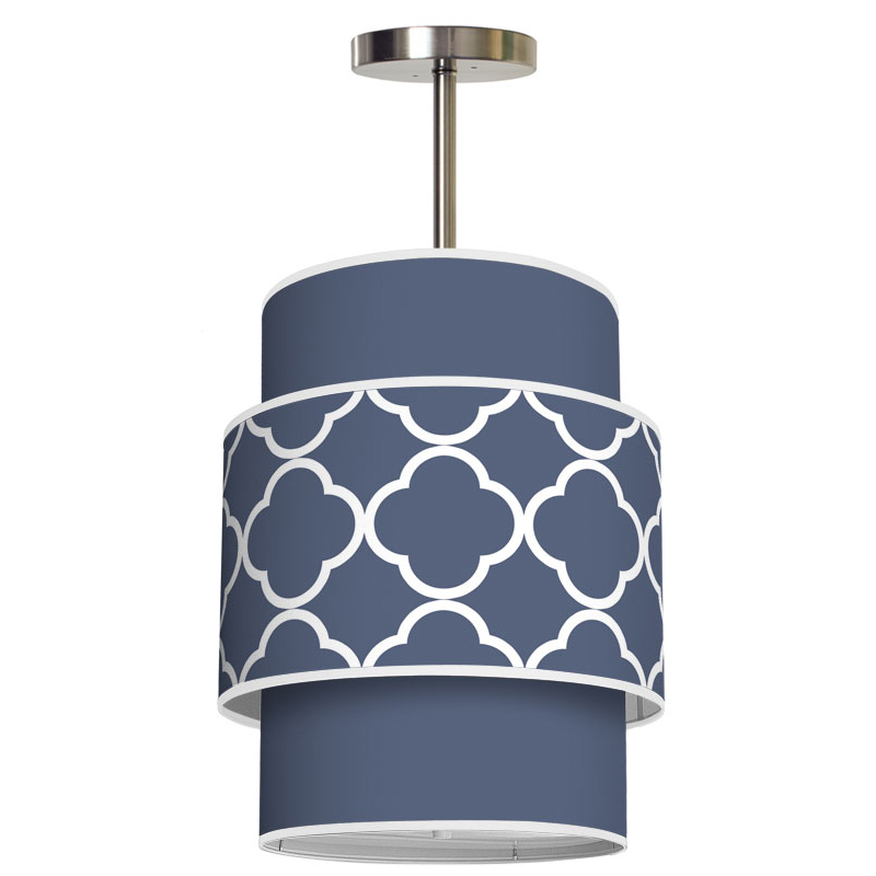 District17 Evan Quatrefoil Pendant Pendant Lights