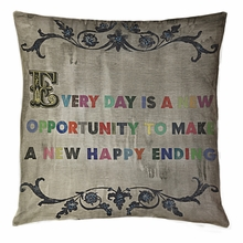 Every Day Is A New Opportunity Throw Pillow
