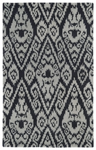 Evolution Ikat Rug in Grey