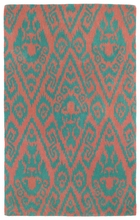 Evolution Ikat Rug in Watermelon